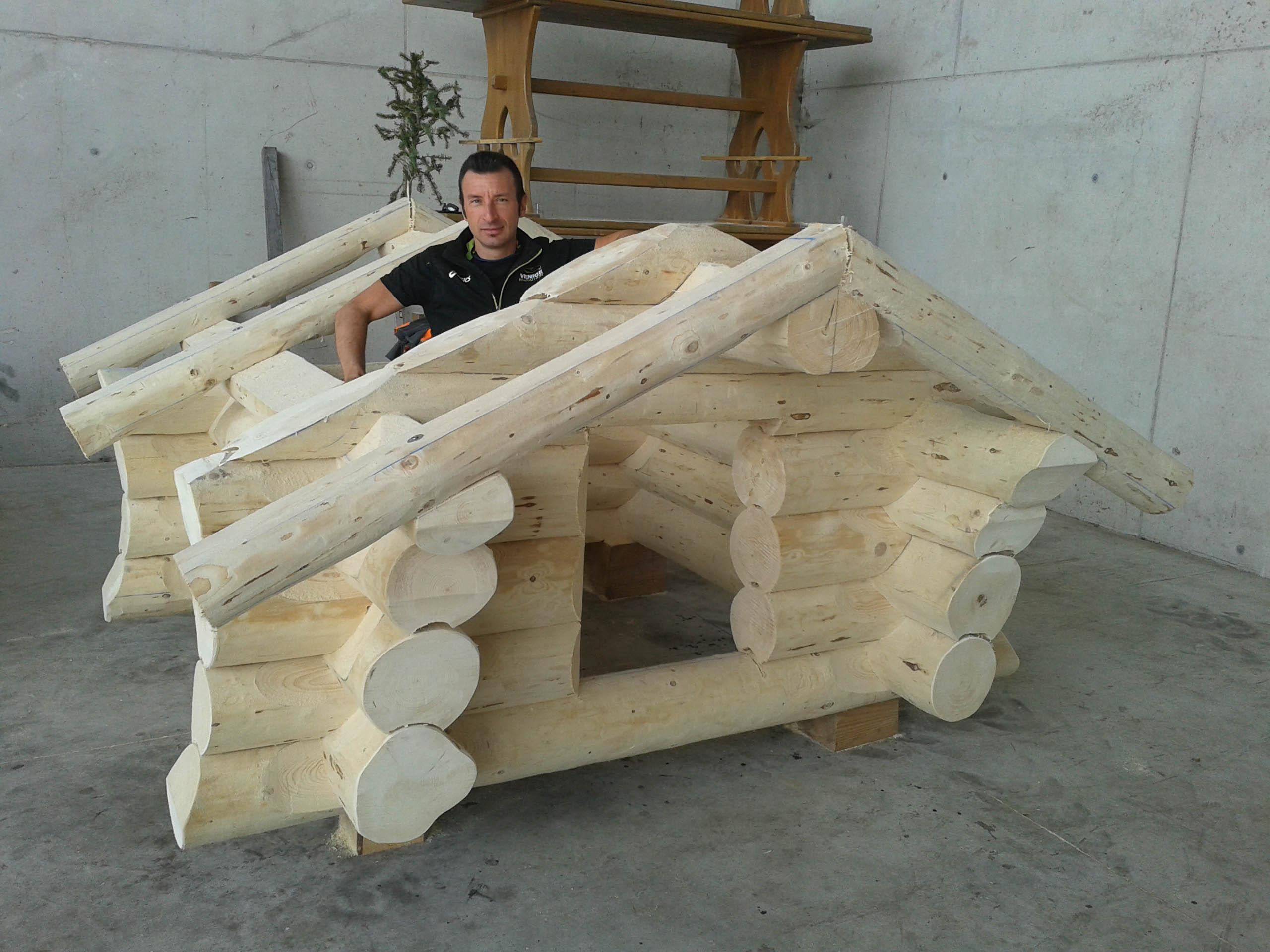 Case Di Tronchi Canadesi : Russian house case prefabbricate in tronchi di legno